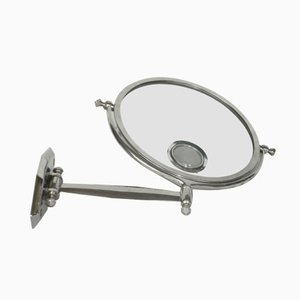 French Art Deco Wall Mirror with Light