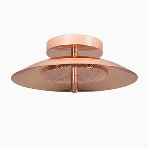 Signal Wandlampe aus Kupfer von Shaun Kasperbauer für Souda