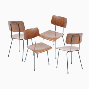1262 Chairs by A. R. Cordemeyer for Gispen, Set of 6