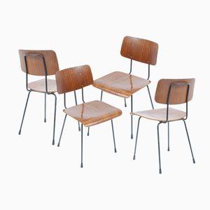 1262 Stühle von A. R. Cordemeyer für Gispen, 6er Set