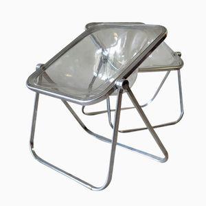 Plexiglass Side Chair by Giancarlo Piretti for Anonima Castelli, 1969