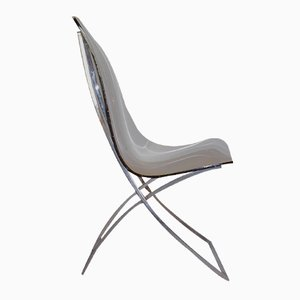 Plexiglass CH4 Chair by Edmond Vernassa