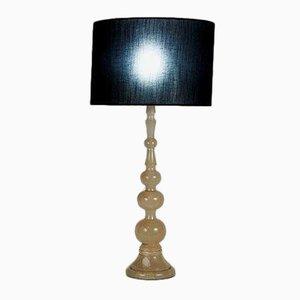 Vintage Alabaster Table Lamp, 1950s