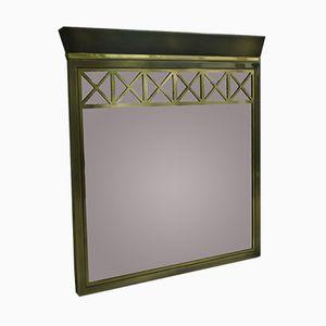 Vergoldeter Vintage Spiegel von Belgochrom