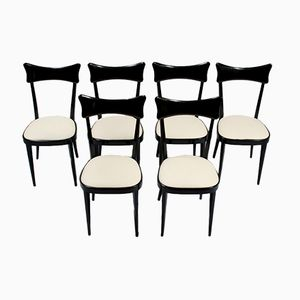 Vintage Italian Dining Chairs, Set of 6