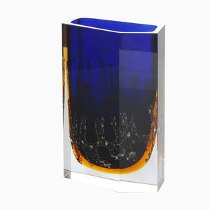 Vintage Schwere Vase von Pavel Hlava