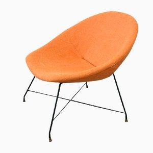 Vintage Lounge Stuhl von Augusto Bozzi für Saporiti Italy