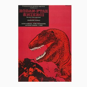 Poster Rodan The Flying Monster Poster par Janusz Rapnicki, 1967