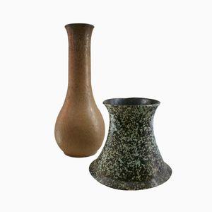 Keramik Vasen, Spanien, 2er Set