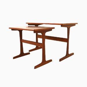 Midcentury Nesting Tables by Arne Wahl Iversen for Vinde Mobelfabrik
