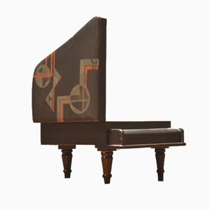 Holzschatulle in Pianoform, 1920er