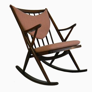 Rocking Chair 182 par Frank Reenskaug pour Bramin, 1958