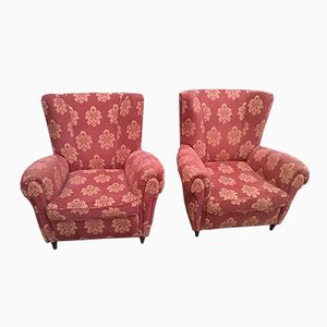 Vintage Italian Armchairs by Paolo Buffa, 1940s, Set of 2