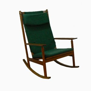 Mid Century Rocking Chair by Hans Olsen for Juul Kristensen, 1963
