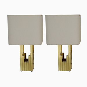 Lampes de Bureau par Willy Rizzo pour Lumica, Set de 2