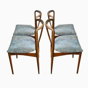 Juliane Chairs by Johannes Andersen for Uldum Mobelfabrik, Set of 4