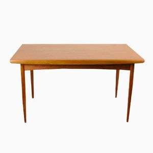 Danish Teak Extendable Dining Table from Dyrlund, 1960s