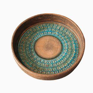 Keramikschale von Aldo Londi für Bitossi