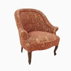 Antique Voltaire Club Chair, 1870