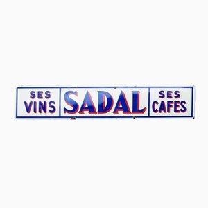 Enseigne de Café Vintage Emaillée