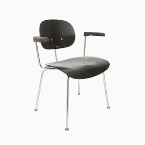Chaise Vintage en Teck et en Chrome par Wilde & Spieth