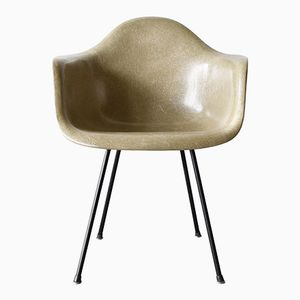 Greige Dax Chair by Charles and Ray Eames for Herman Miller / Zenith