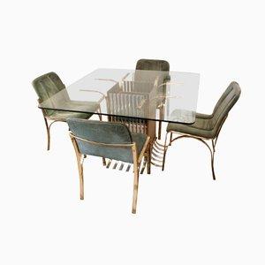 holz couchtisch mit quadratischen f chern bei pamono kaufen. Black Bedroom Furniture Sets. Home Design Ideas