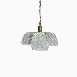 Ceiling Light by Carl Fagerlund for Orrefors, 1960s