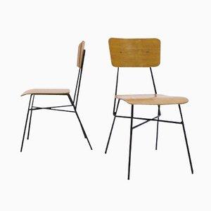 Mid Century Spanish Chairs, 1950s, Set of 2