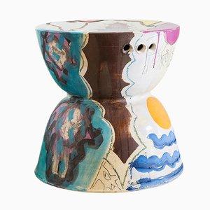 Keramik Hocker von Reinaldo Sanguino