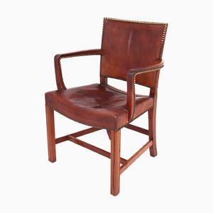 Stuhl aus Kubanischem Mahagoni von Kaare Klint für Rud Rasmussen