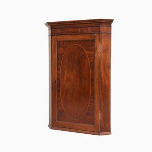 Antique Georgian Mahogany Corner Cabinet, 1790