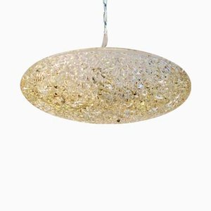 Textured Glass Ceiling Lamp from J.T. Kalmar