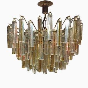 Murano Glas Kronleuchter von Paulo Venini für Venini, 1960er