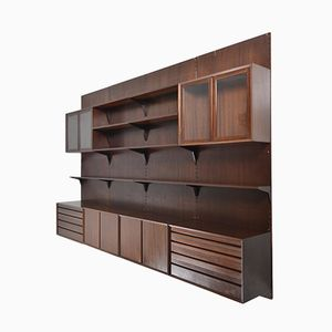 Midcentury Danish Royal Wall System by Poul Cadovius for Cado