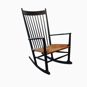 Rocking Chair J16 par Hans Wegner pour FDB Møbler, 1968