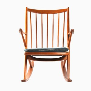 Rocking Chair 182 par Frank Reenskaug pour Bramin