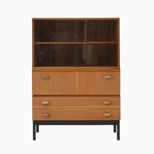 Vintage Cabinet with Bookcase from Interiér Praha, 1964