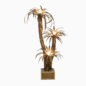 Palmen Stehlampe von Maison Jansen