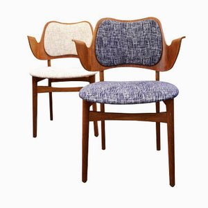 Lounge Chairs by Hans Olsen, Set of 2