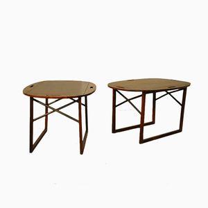 Tray Tables by Svend Langkilde for Langkilde Möbler, 1950s, Set of 2