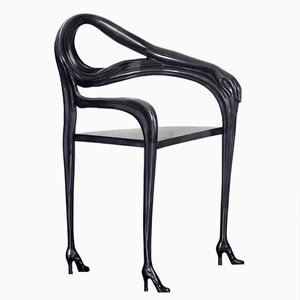 Black Label Limited Edition Dalí Leda Armchair-Sculpture from BD Barcelona