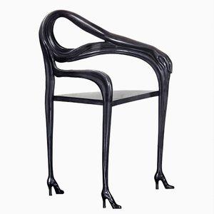 Black Label Limitierte Edition Dalí Leda Skulptureller Armlehnstuhl von BD Barcelona
