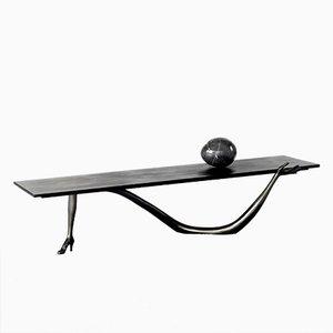 Niedriger Dalí Leda Skulptur Tisch aus der Black Label Limitierten Edition von BD Barcelona