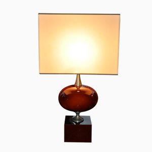 Vintage French Table Lamp by Philippe Barbier