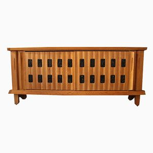 Oak Sideboard by Guillerme and Chambron for Your House, 1960