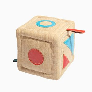 Cube Stool or Therapeutic Toy by Renate Müller, 1970s