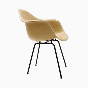 Mustard Fiberglass Armchair by Charles & Ray Eames for Herman Miller, 1960s