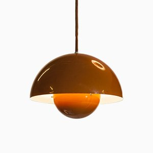 Flowerpot Pendant Lamp by Verner Panton for Louis Poulsen, 1970s