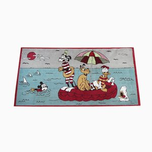 Mickey Mouse Rug, 1950s